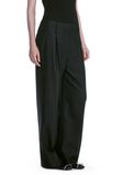 ALEXANDER WANG EXOTIC DANCER SINGLE PLEAT WOOL PANTS  PANTS Adult 8_n_e