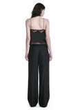 ALEXANDER WANG EXOTIC DANCER SINGLE PLEAT WOOL PANTS  PANTS Adult 8_n_r