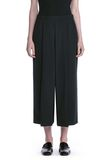 ALEXANDER WANG CROPPED PANTS WITH INVERTED PLEAT FRONT PANTS Adult 8_n_d