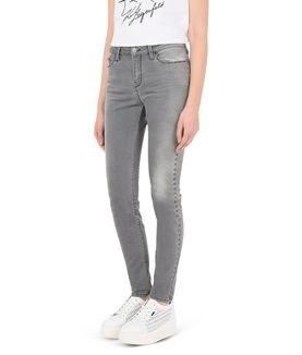 KARL LAGERFELD STUDDED SLIM FIT DENIM