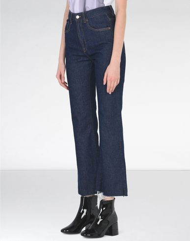 MM6 by MAISON MARGIELA Jeans D Cropped flare jeans f