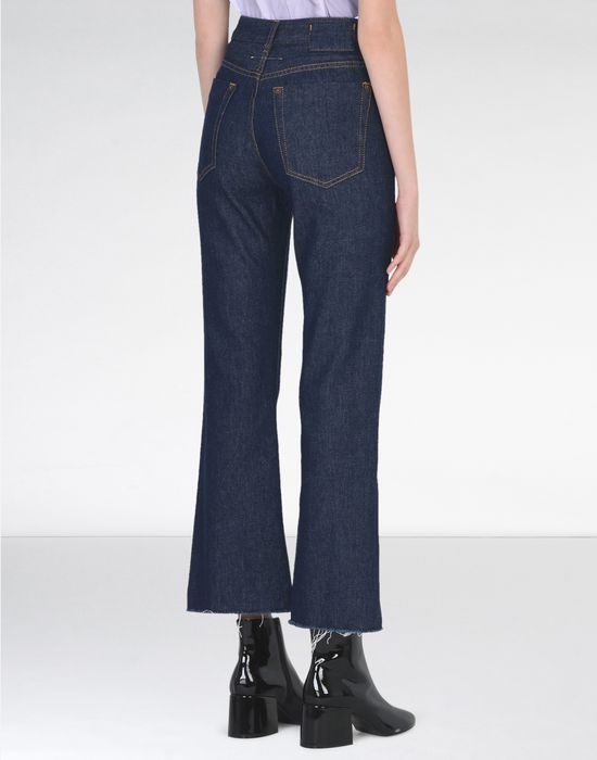 MM6 MAISON MARGIELA Cropped flare jeans Jeans [*** pickupInStoreShipping_info ***] d