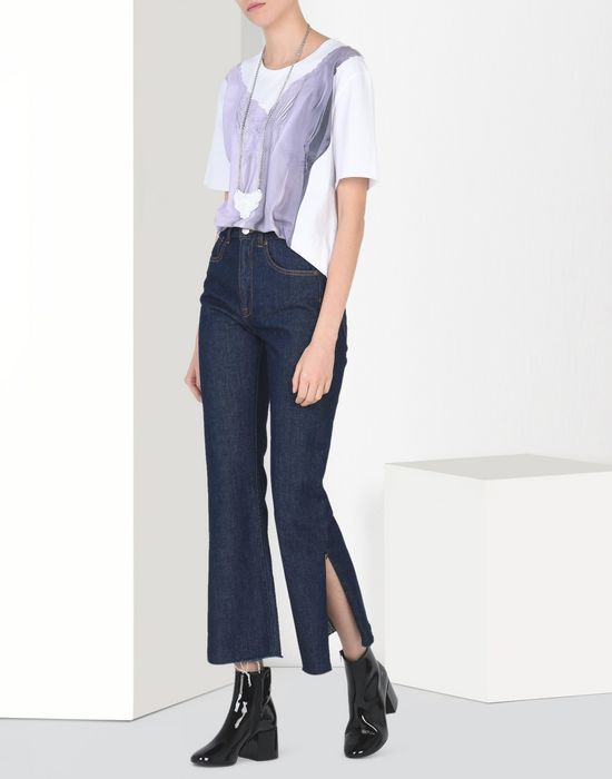 MM6 MAISON MARGIELA Cropped flare jeans Jeans [*** pickupInStoreShipping_info ***] r