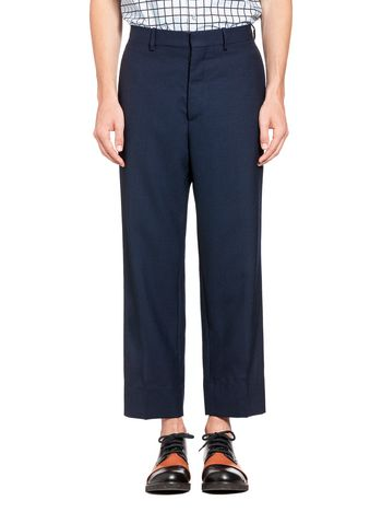 Marni Pants in two-ply cool wool Man