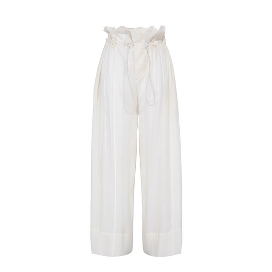 Cream High Waisted Pants