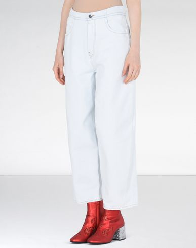 MM6 by MAISON MARGIELA Jeans D Wide-legs denim pants f
