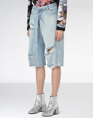 MM6 by MAISON MARGIELA Shorts D Asymmetric jeans f