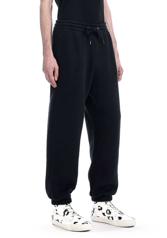 T by ALEXANDER WANG PANTS Men DENSE FLEECE SWEATPANTS