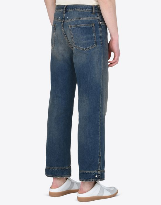 MAISON MARGIELA High-waisted denim trousers Jeans U e