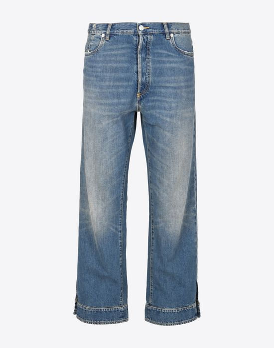 MAISON MARGIELA High-waisted denim trousers Jeans U f