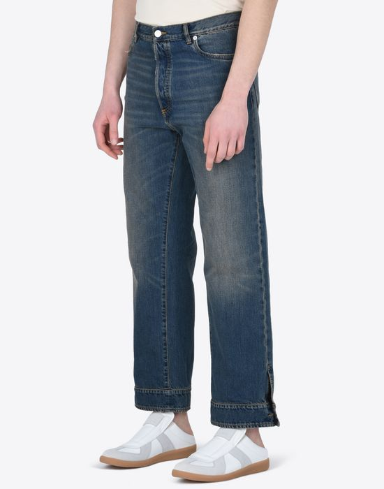 MAISON MARGIELA High-waisted denim trousers Jeans U r