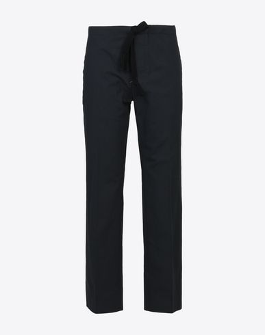 MAISON MARGIELA 10 Super light gabardine trousers Casual pants U f
