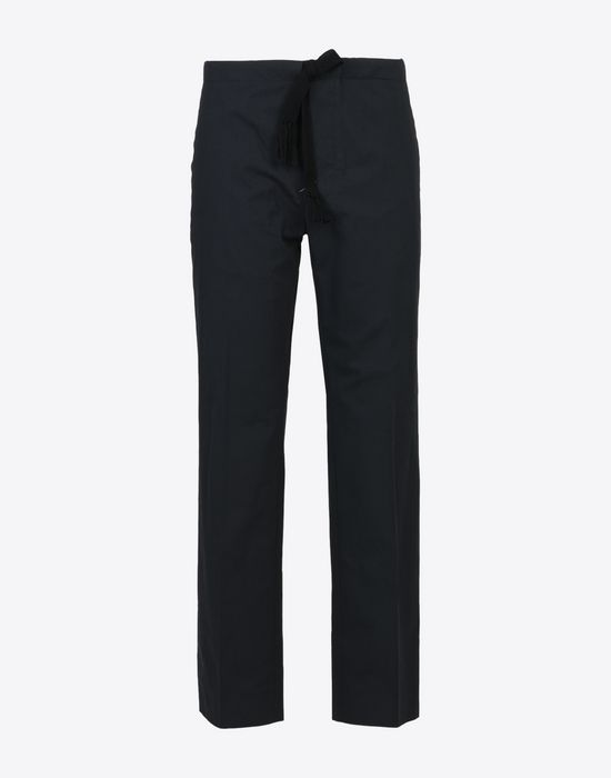 MAISON MARGIELA Super light gabardine trousers Casual pants U f