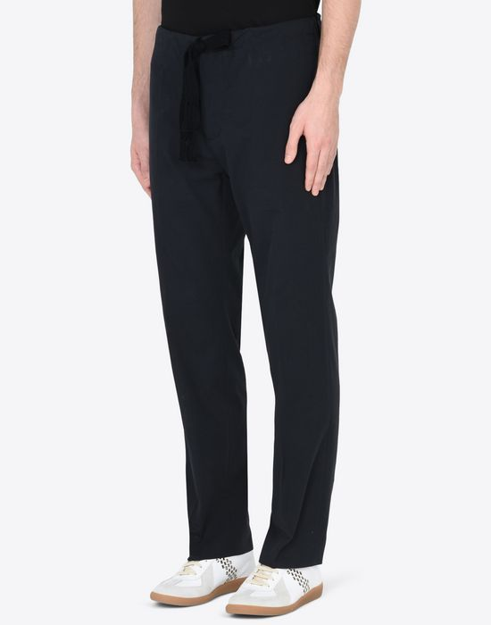 MAISON MARGIELA Super light gabardine trousers Casual pants U r