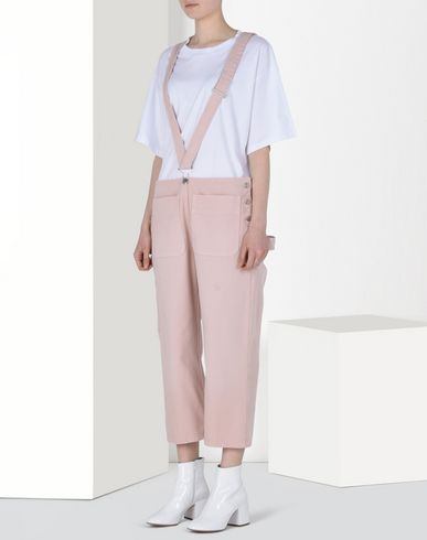 MM6 by MAISON MARGIELA Trousers D Trousers with suspenders f