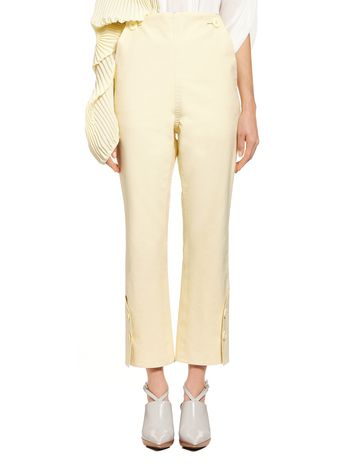 Marni Double bonded cotton pants Woman