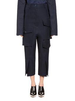 Marni Pocketed pants in cotton cady Woman