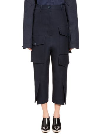 Marni Pants in cady with pockets Woman
