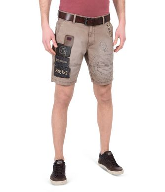 NAPAPIJRI NARWEE MAN BERMUDA SHORTS,LIGHT BROWN