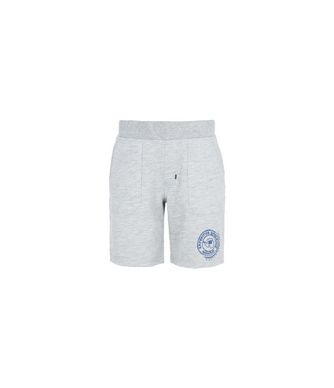 NAPAPIJRI K NAY KID KID BERMUDA SHORTS,LIGHT GREY