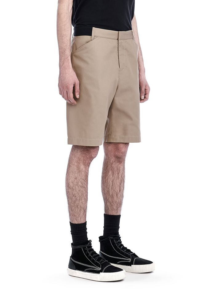ALEXANDER WANG SHORTS Men UNIFORM CREASE SHORTS