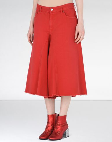 MM6 by MAISON MARGIELA Trousers D Culotte jeans f