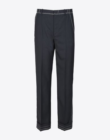 MAISON MARGIELA 14 Formal trousers U Trousers with contrasting details f
