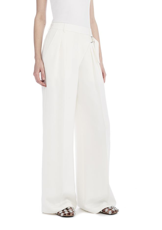 T by ALEXANDER WANG PANTS Women DRAPE WIDE LEG TROUSERS