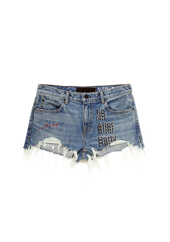 ALEXANDER WANG exclusives NO AFTER PARTY SHORTS
