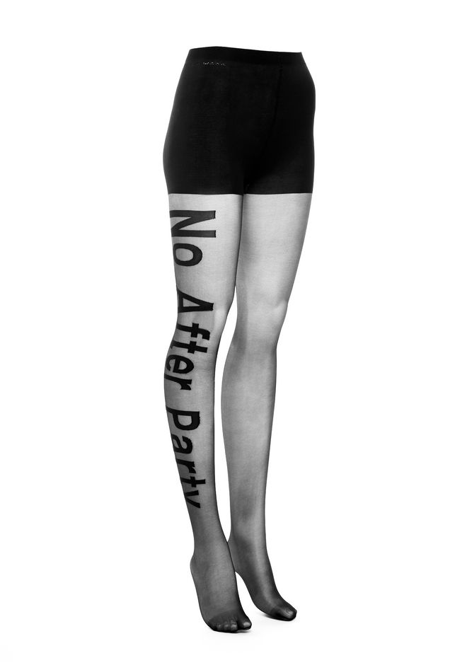 ALEXANDER WANG PANTS Women NO AFTER PARTY TIGHTS