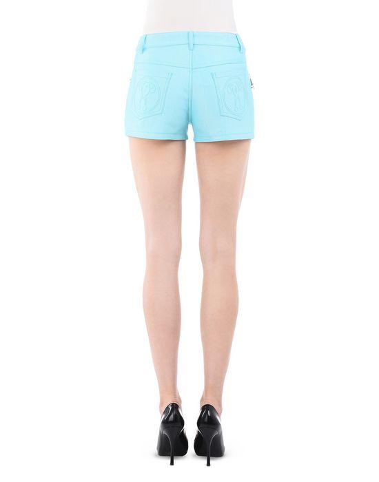 Denim shorts Woman MOSCHINO