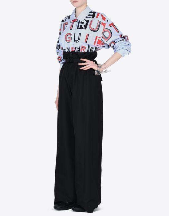 MAISON MARGIELA High-waisted trousers Casual pants Woman d