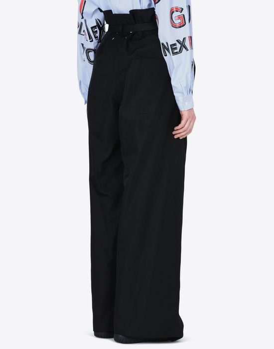 MAISON MARGIELA High-waisted trousers Casual pants D e