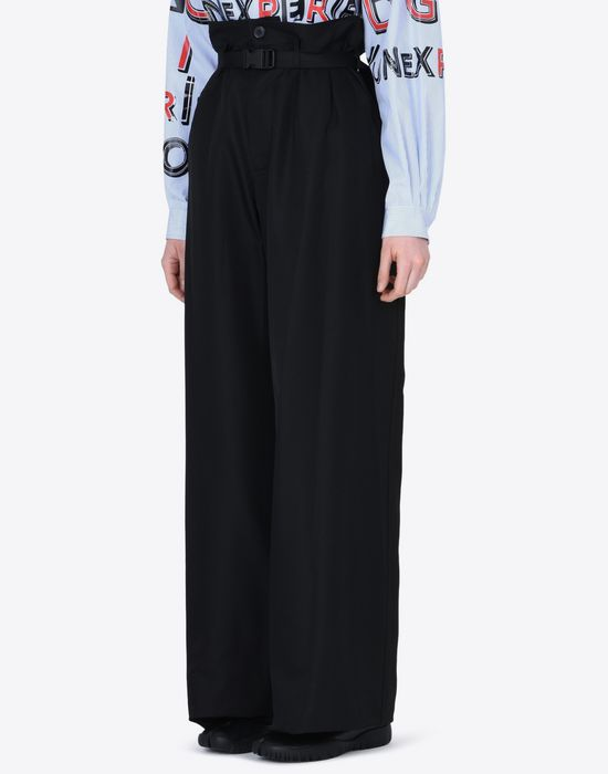 MAISON MARGIELA High-waisted trousers Casual pants D r