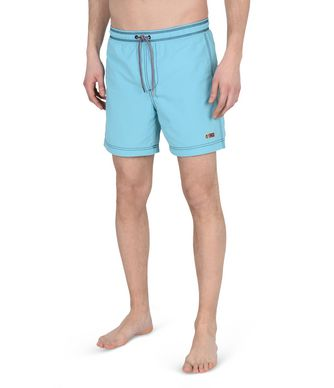 NAPAPIJRI VILLA  MAN SWIMMING TRUNKS,TURQUOISE