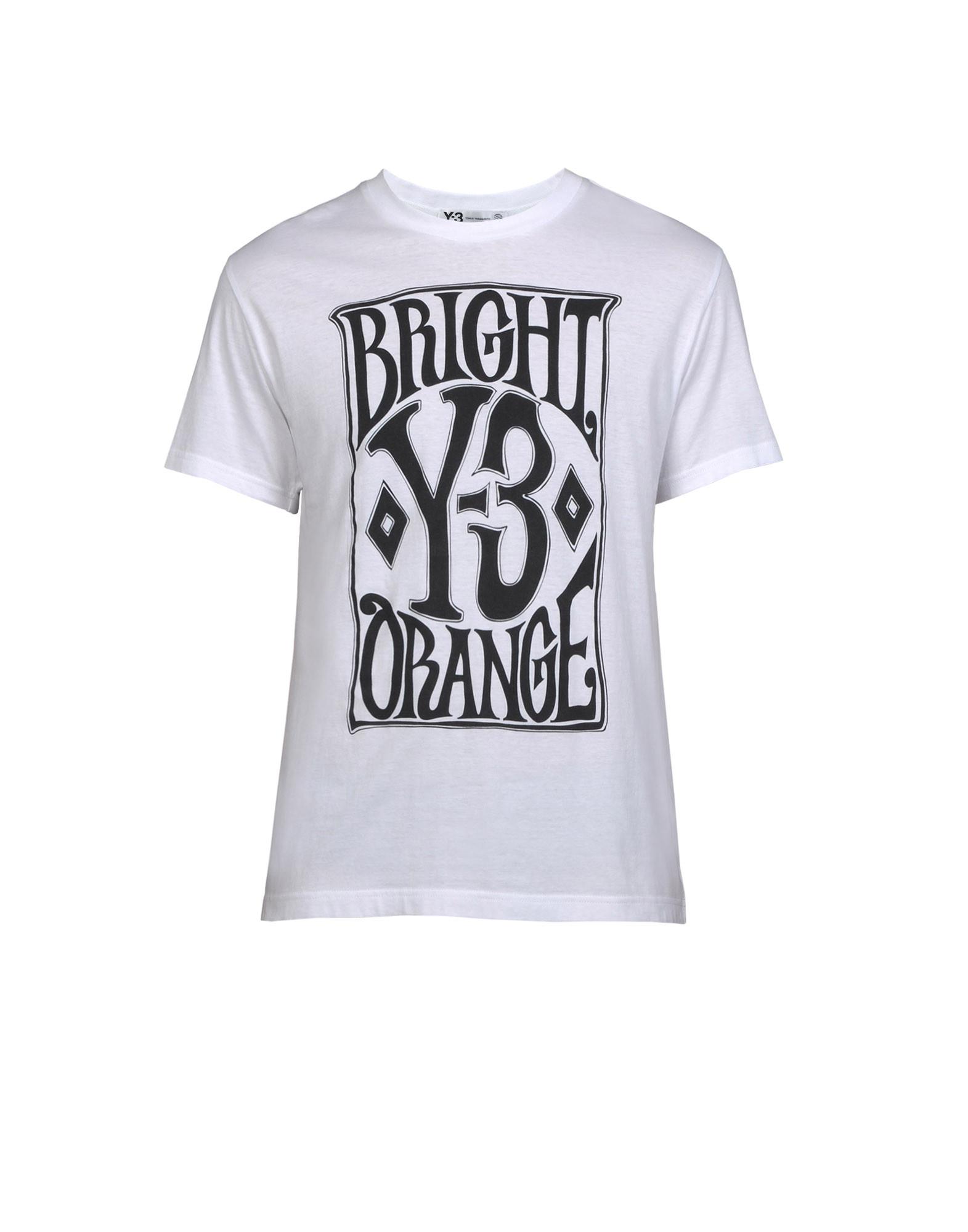 cf5ea7b81  Y 3 Poster Crew Tee Short Sleeve t Shirts | Adidas Y-3 Official ...