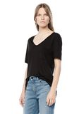 T by ALEXANDER WANG CLASSIC TEE WITH POCKET Short sleeve t-shirt Adult 8_n_a