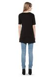 T by ALEXANDER WANG CLASSIC TEE WITH POCKET Short sleeve t-shirt Adult 8_n_r