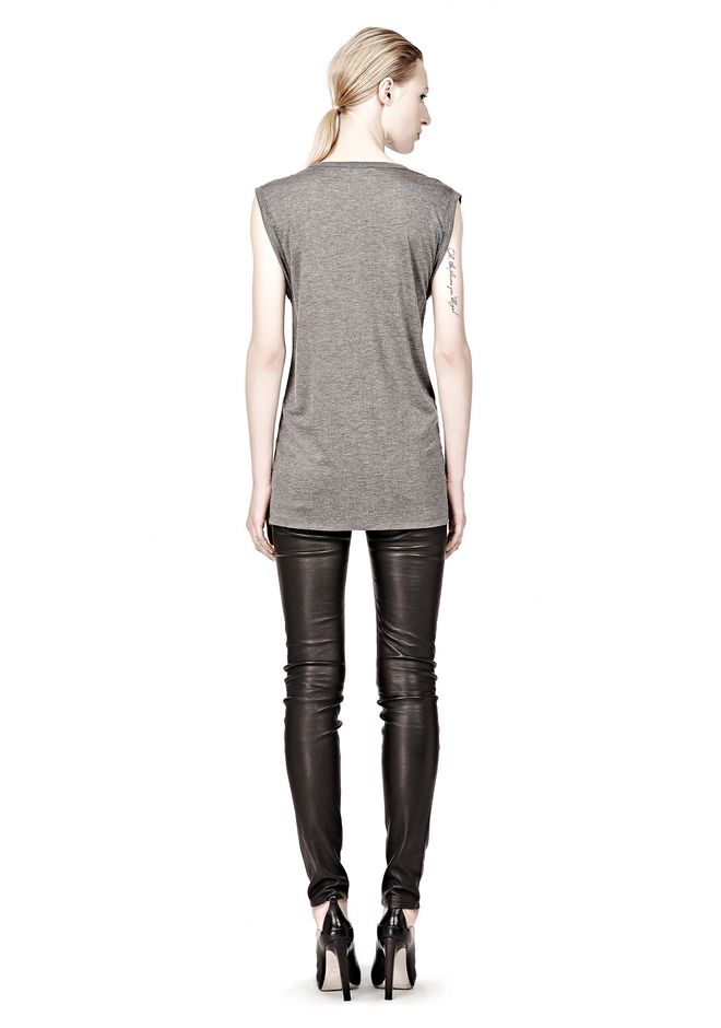 T by ALEXANDER WANG CLASSIC MUSCLE TEE WITH POCKET TEE Adult 12_n_r