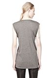 T by ALEXANDER WANG CLASSIC MUSCLE TEE WITH POCKET TEE Adult 8_n_d
