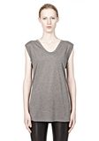 T by ALEXANDER WANG CLASSIC MUSCLE TEE WITH POCKET TEE Adult 8_n_e