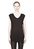 T by ALEXANDER WANG CLASSIC MUSCLE TEE WITH POCKET T-Shirt Adult 8_n_e