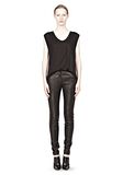 T by ALEXANDER WANG CLASSIC MUSCLE TEE WITH POCKET TEE Adult 8_n_f