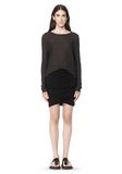 T by ALEXANDER WANG SLUB CLASSIC LONG SLEEVETEE  TEE Adult 8_n_f