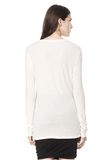T by ALEXANDER WANG SLUB CLASSIC LONG SLEEVETEE  TEE Adult 8_n_d