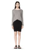 T by ALEXANDER WANG CLASSIC LONG SLEEVE TEE WITH POCKET Long sleeve t-shirt Adult 8_n_f