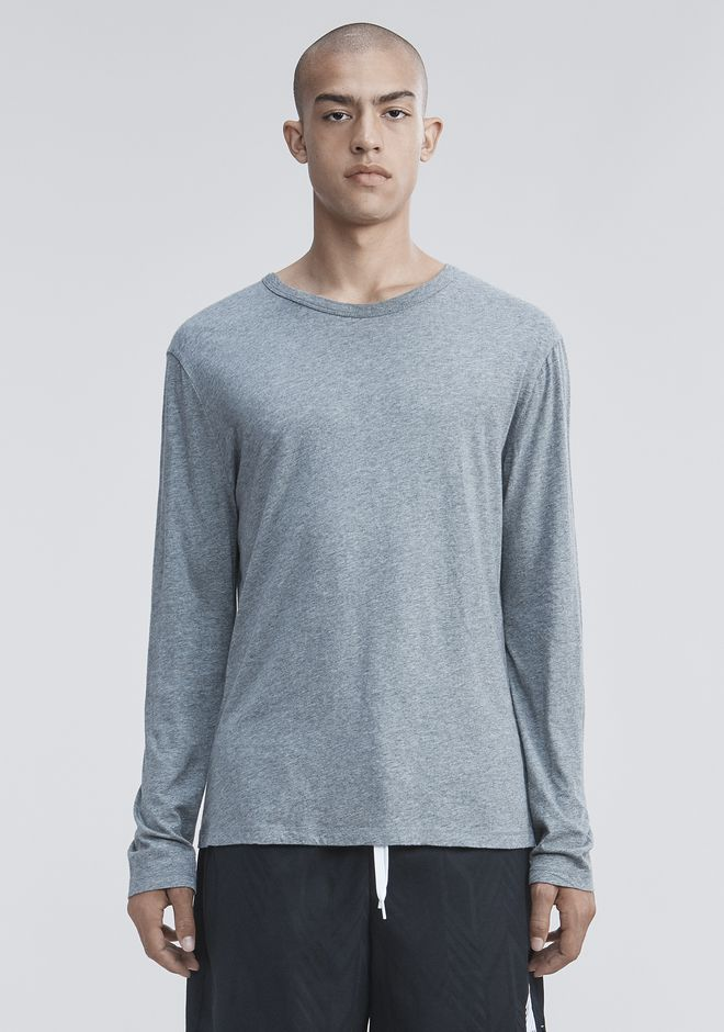 T by ALEXANDER WANG Long sleeve t-shirts Men CLASSIC LONG SLEEVE TEE