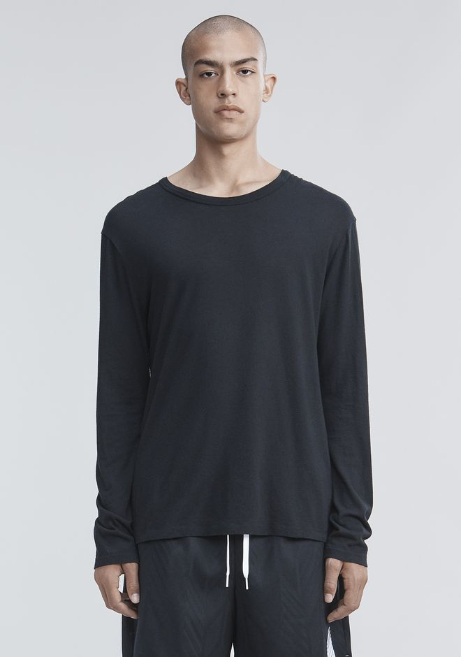 T by ALEXANDER WANG nwvmens-apparel CLASSIC LONG SLEEVE TEE