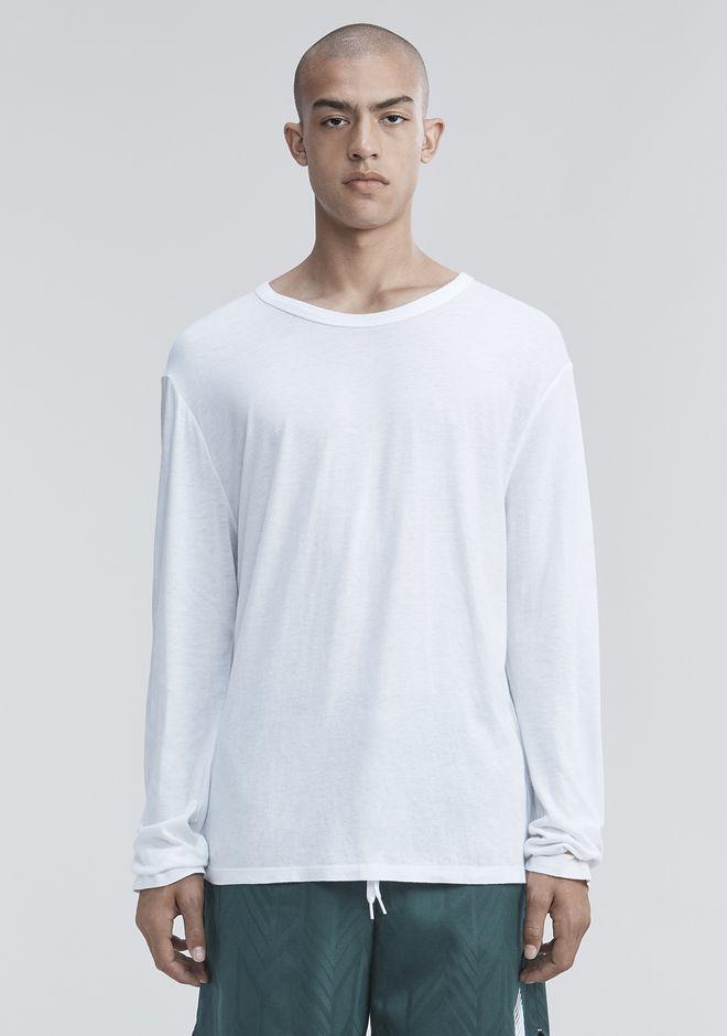 T by ALEXANDER WANG CLASSIC LONG SLEEVE TEE Long sleeve t-shirt Adult 12_n_e