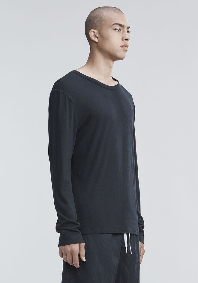 T by ALEXANDER WANG CLASSIC LONG SLEEVE TEE Long sleeve t-shirt Adult 12_n_a